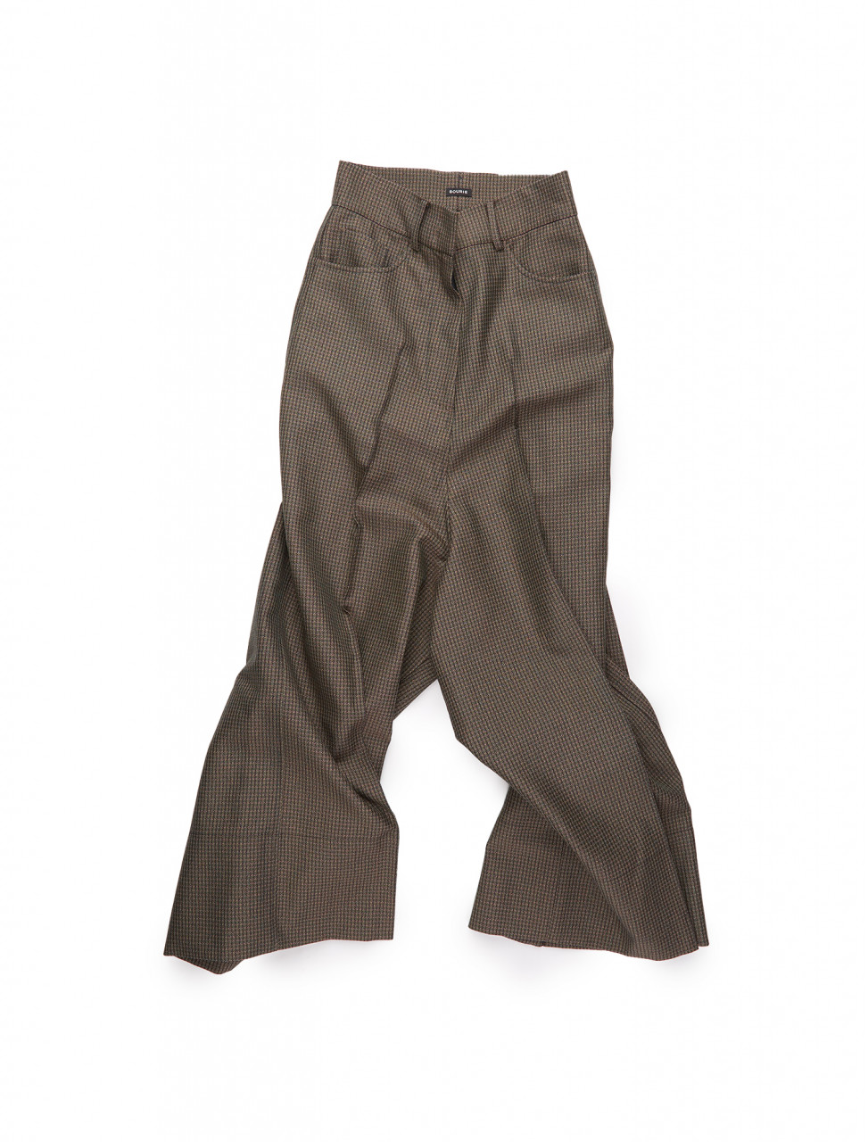 351-BC20FWPT08-PG BOURIE PINTUCK WOODY PANTS