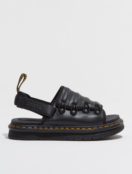 27392001 DR. MARTENS X SUICOKE DM MURA IN BLACK SMOOTH AND NEOPRENE