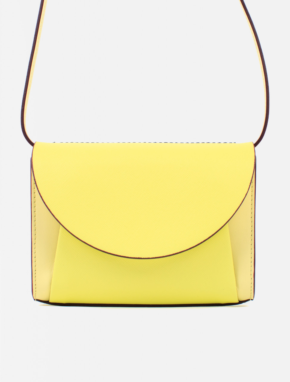 Leather Clutch Belt Bag