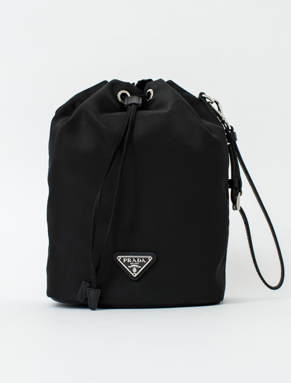 Prada Sailcloth Drawstring Bag