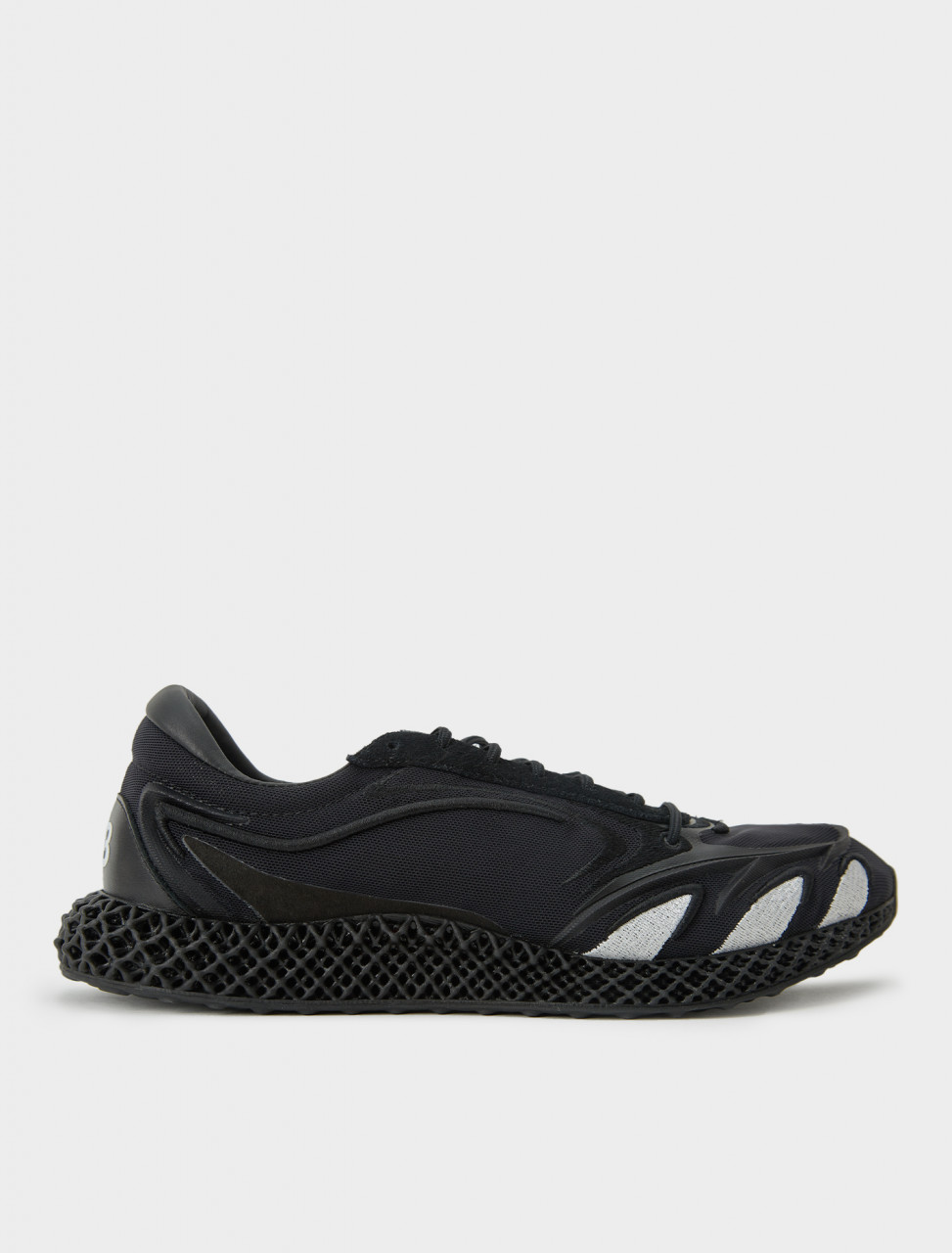 Y-3 Runner 4D in Black/Footwear White/Black