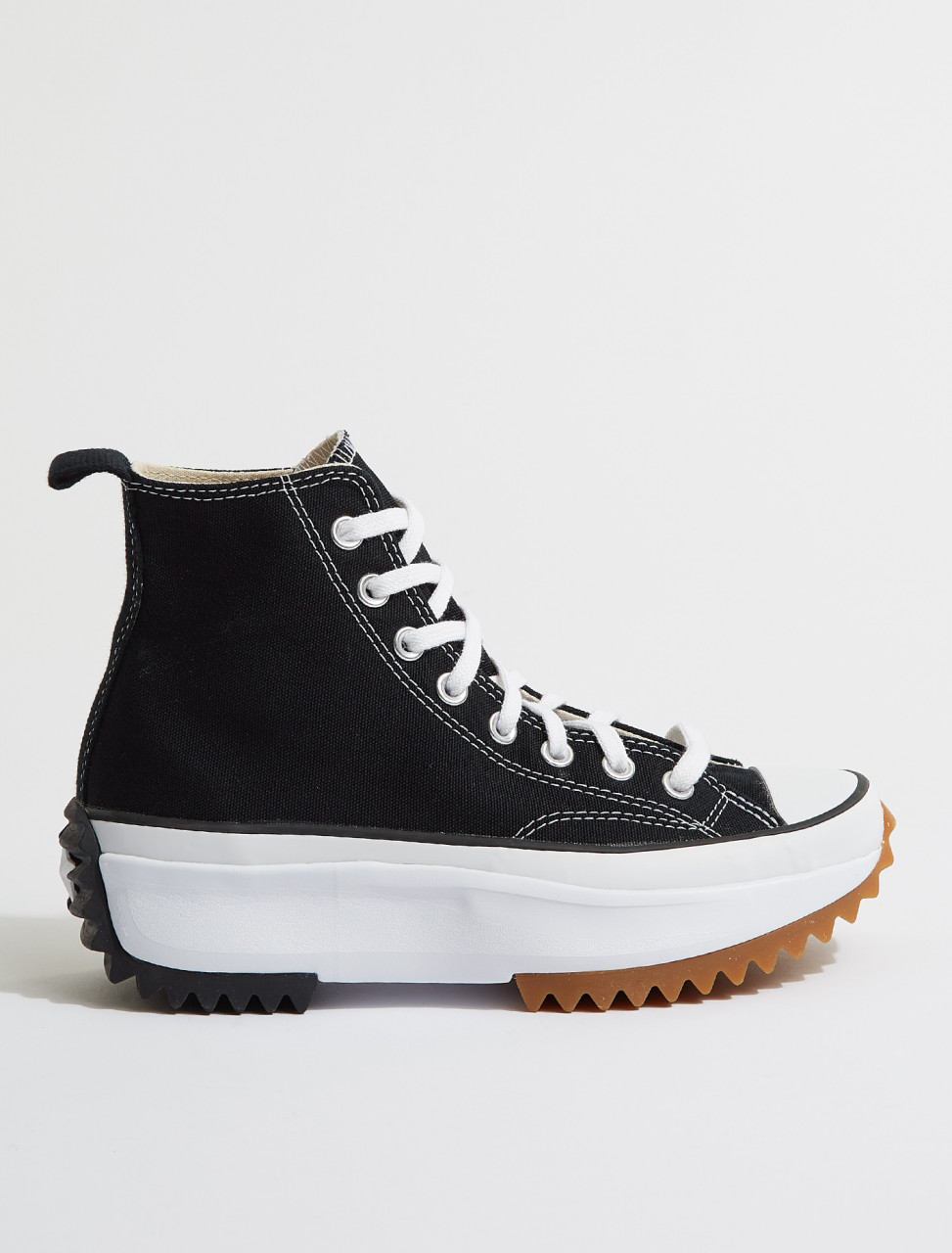 166800C CONVERSE Run Star Hike High in Black & White