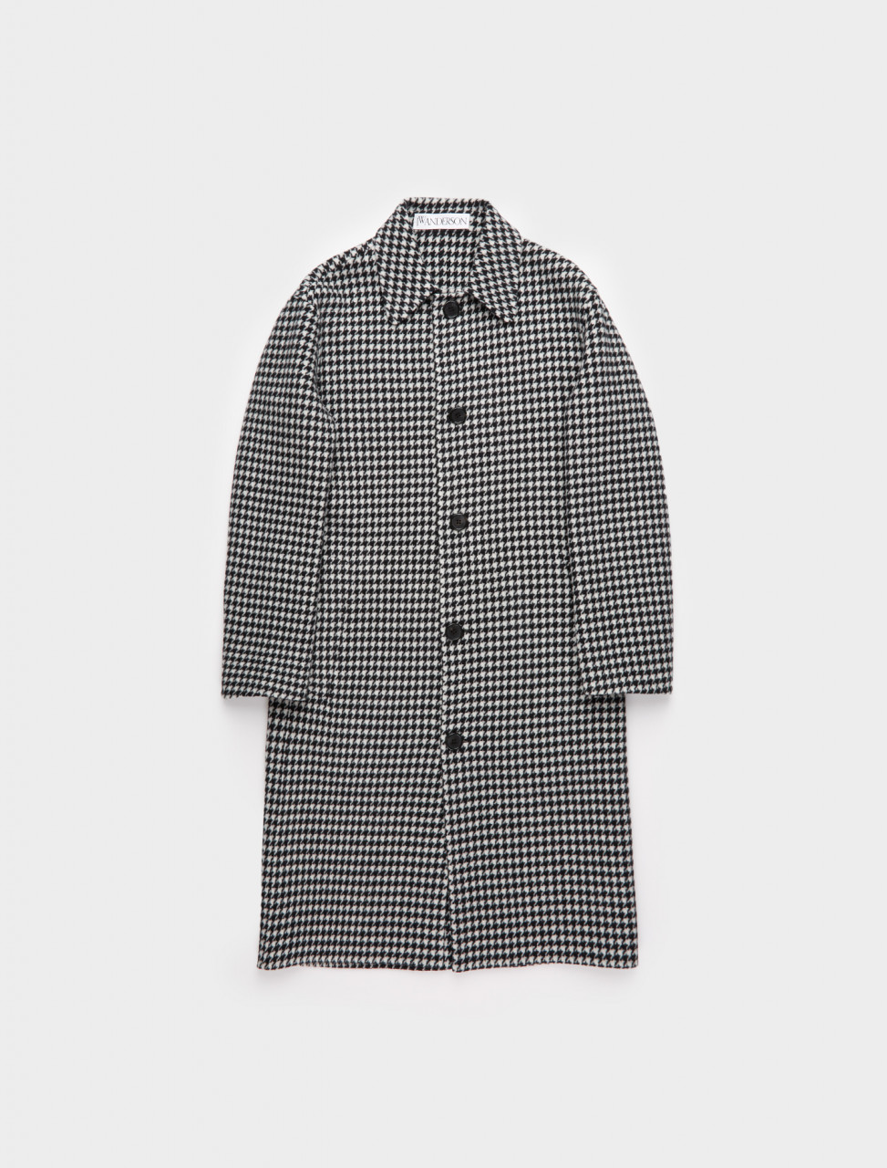 179-CO0070-PG0351-901 JW ANDERSON HOUNDSTOOTH OVERCOAT