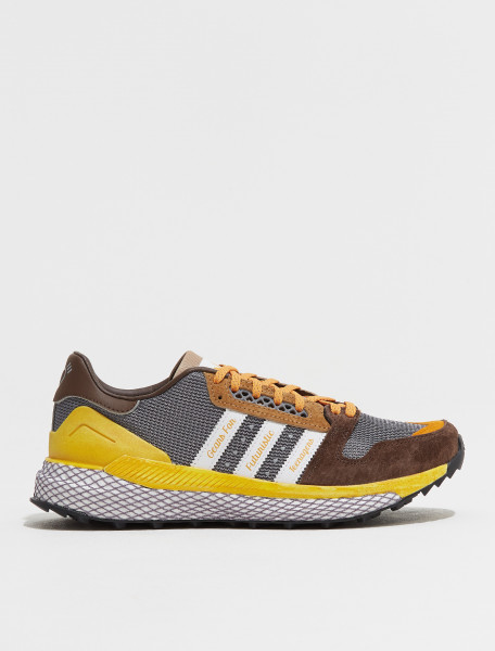 GY3019 ADIDAS HUMAN MADE QUESTAR SNEAKER IN BROWN