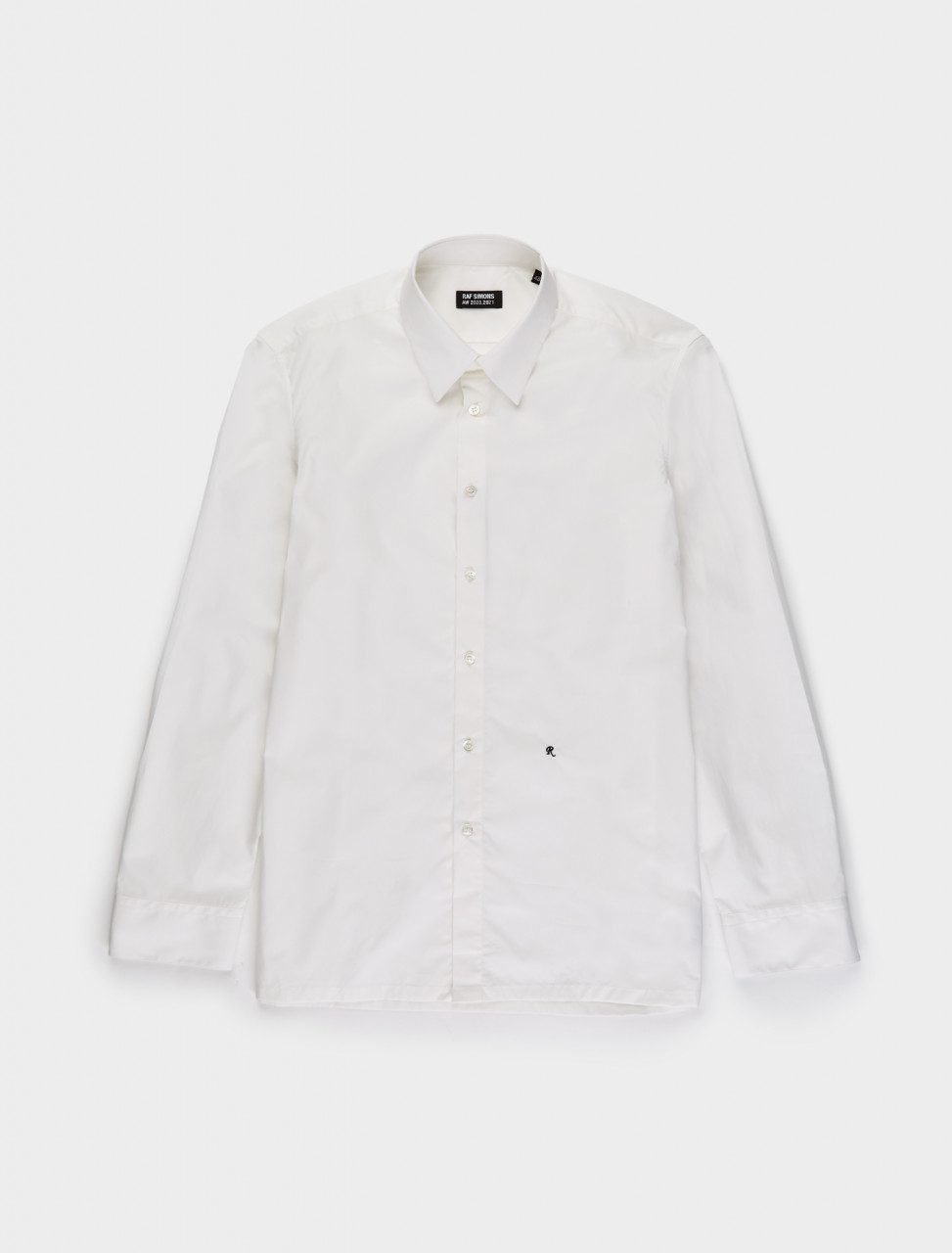 162-202-271-10007-00010 RAF SIMONS STRAIGHT FIT R SHIRT