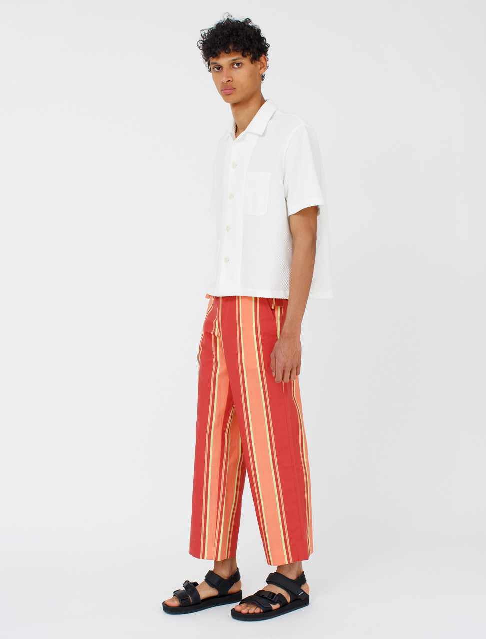 Bode Rajasthan Stripe Trousers