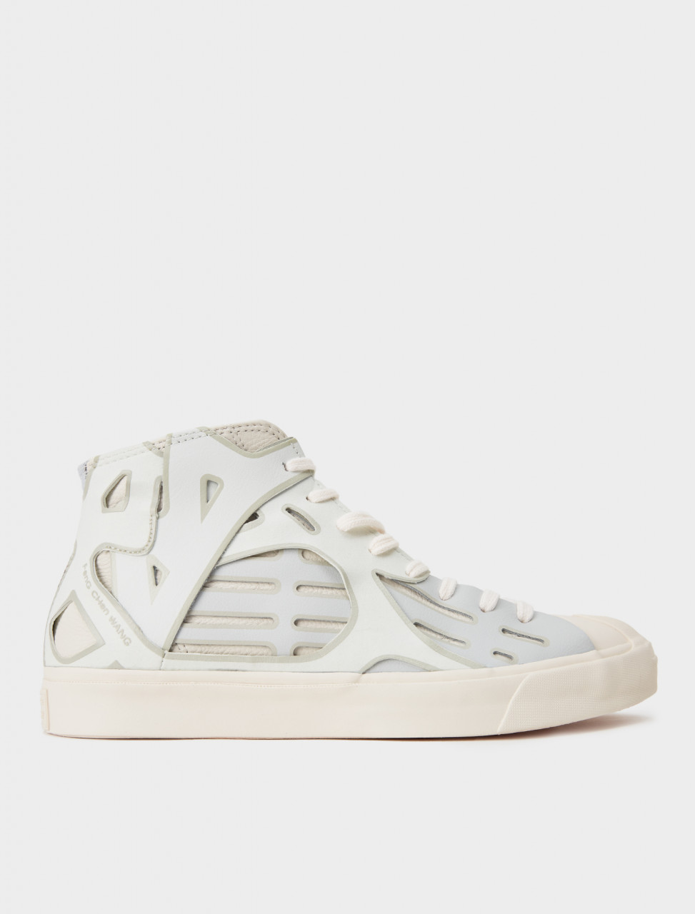 221-169009C-100 CONVERSE X FENG CHEN WANG WHITE Jack Purcell Mid Sea Salt