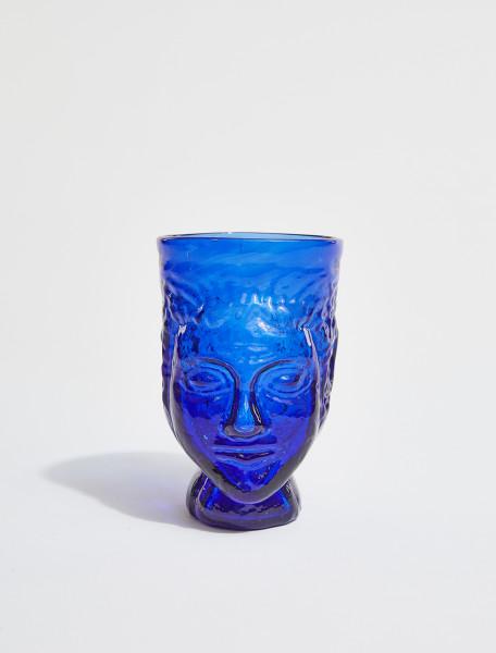 87DBLUE LA SOUFFLERIE TETE GLASS IN BLUE