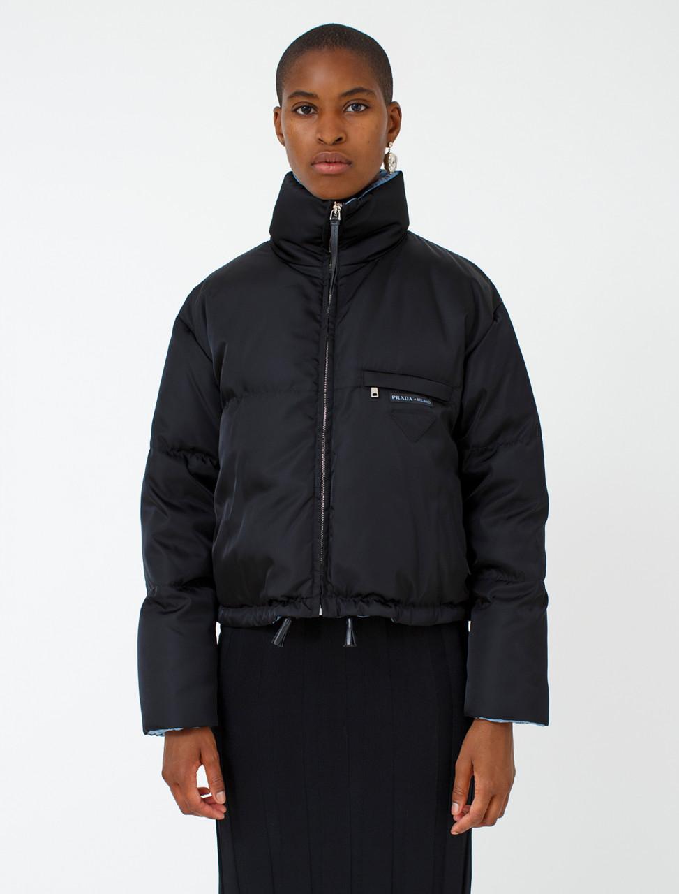 Cropped Nylon Jacket