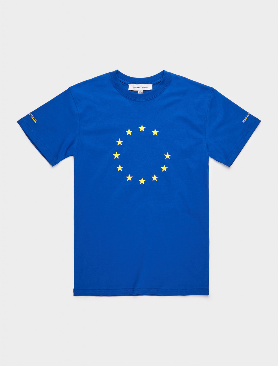 168-SOEU10-4-1 SOURVENIR EUNIFY 3.0 T SHIRT BLUE