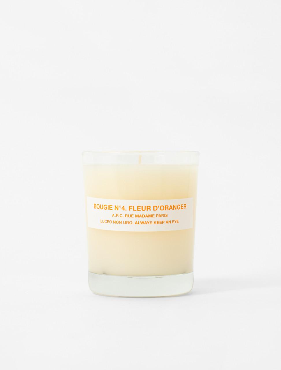 Bougie Parfumée No. 4 - Orange Flower