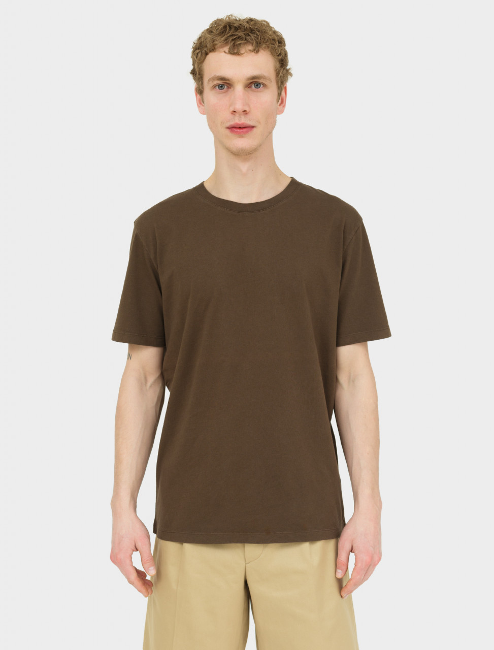 T-Shirt in Chocolate