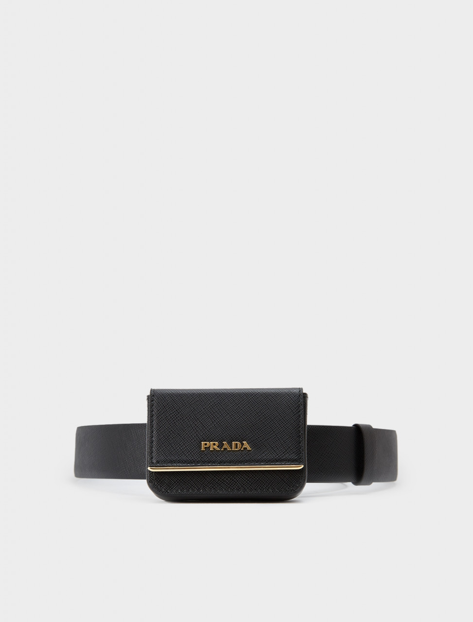 242-1CC492-2DL0-F0002 PRADA CINTURE BAG BELT BLACK