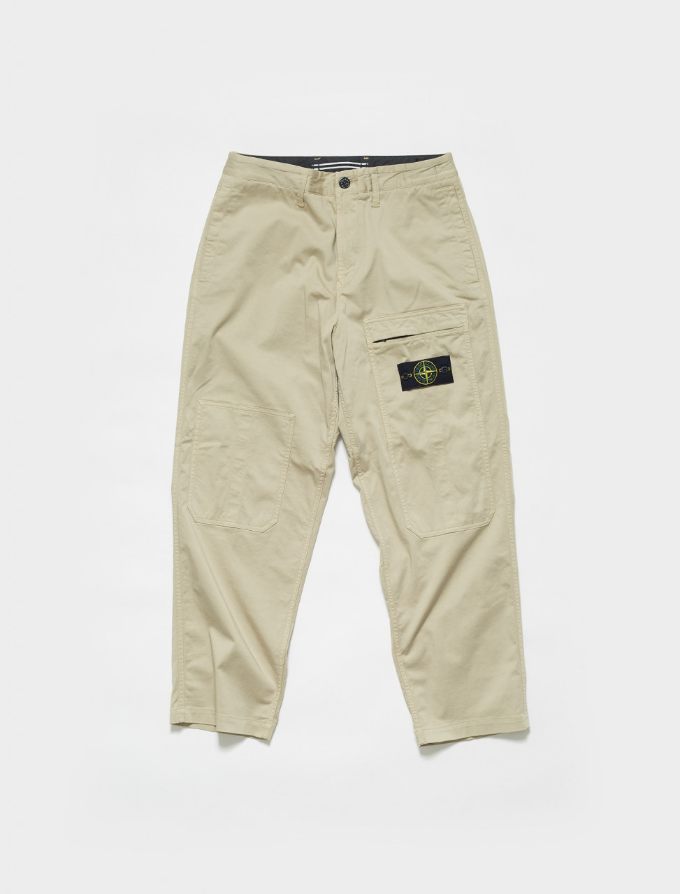 MO741530609 STONE ISLAND LOOSE FIT TROUSERS SABBIA