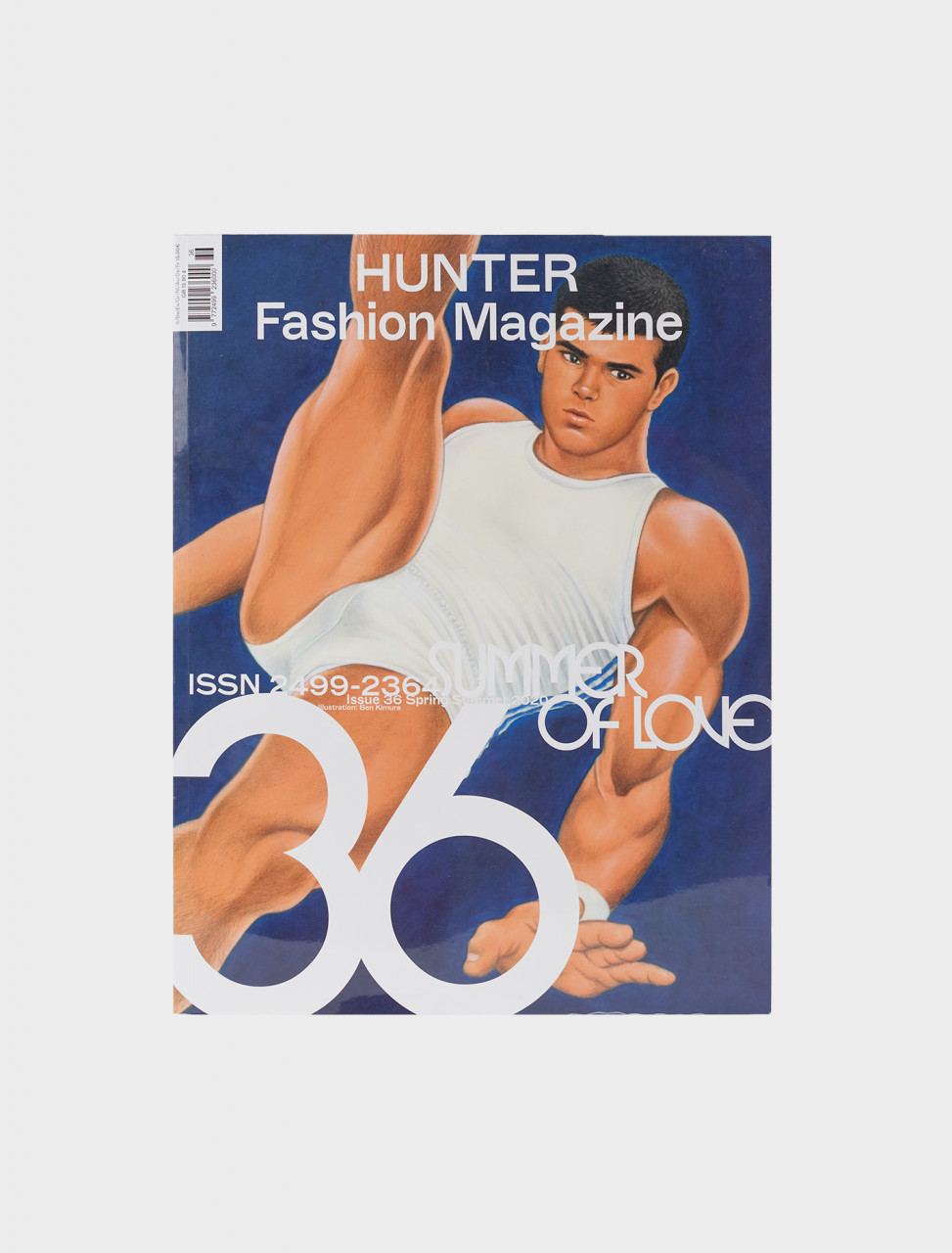 Cover of Issue 36 Summer of Love. Hunter Magazine.
