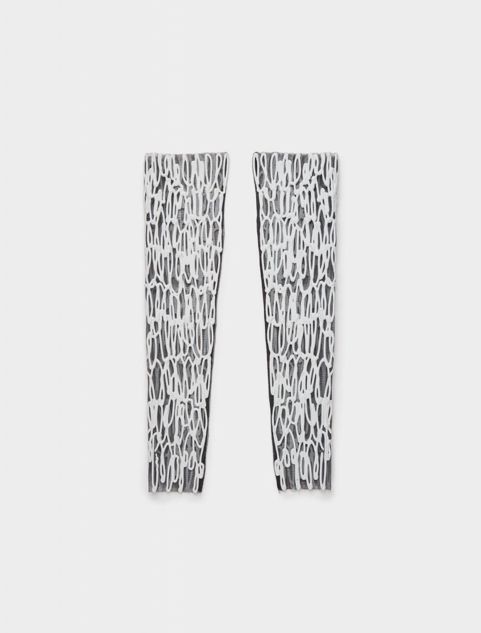 1000710 KASIA KUCHARSKA ARM OR LEG PIECE PAIR BLACK WHITE