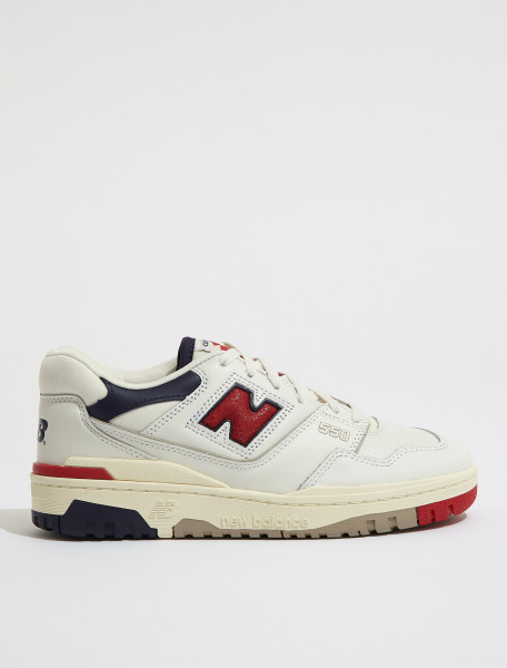 BB550A3 NEW BALANCE AIME LEON DORE 550 WHITE NAVY RED