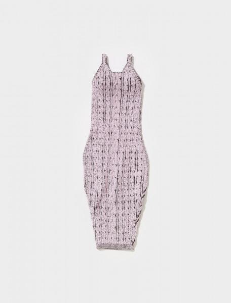 PFDR1 ISA BOULDER CABLEGUY DRESS IN GRAPE