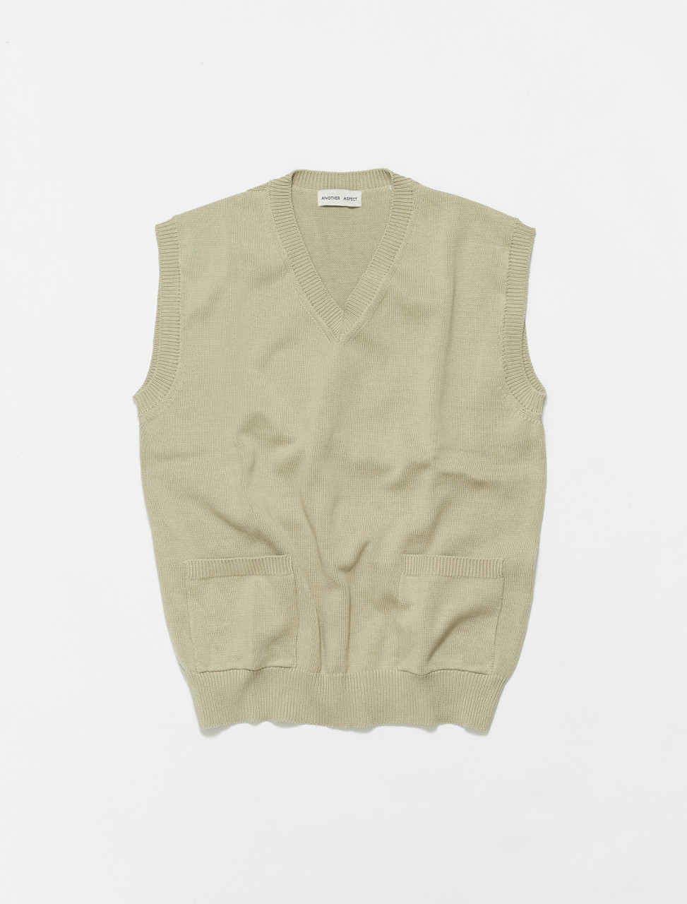 606060-600 ANOTHER ASPECT ANOTHER VEST 1.0 PALE OLIVE GREEN