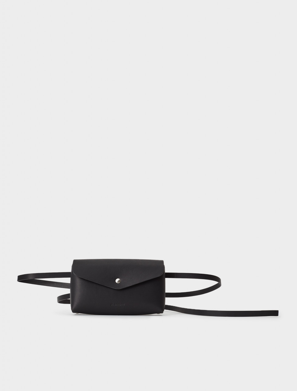 130-JSMR840103-MRS00004-001 Jil Sander Military Belt Bag in Black