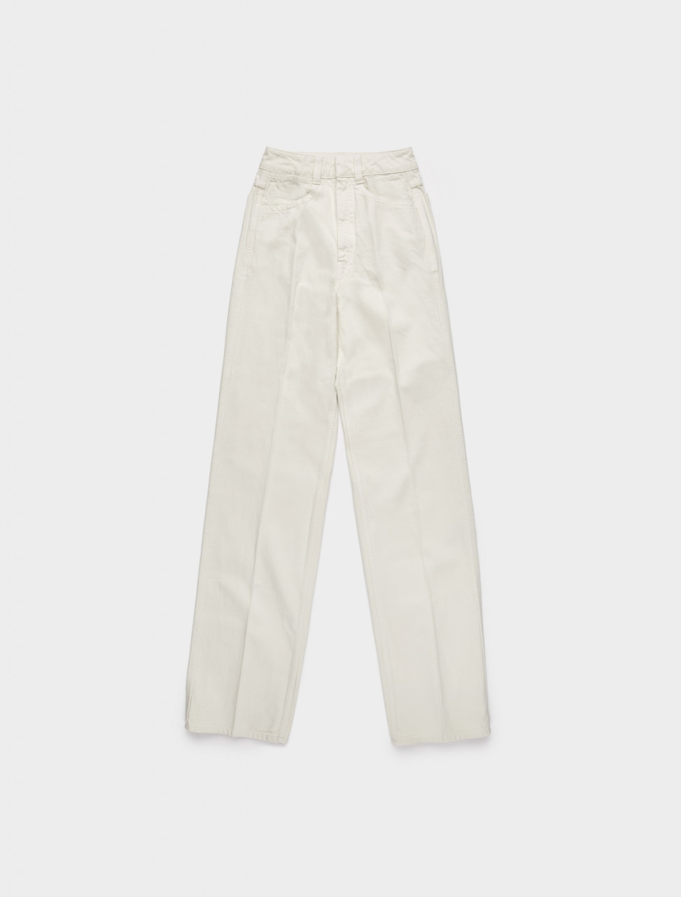218-W-203-PA258-LD034-003 LEMAIRE JEANS BONE WHITE