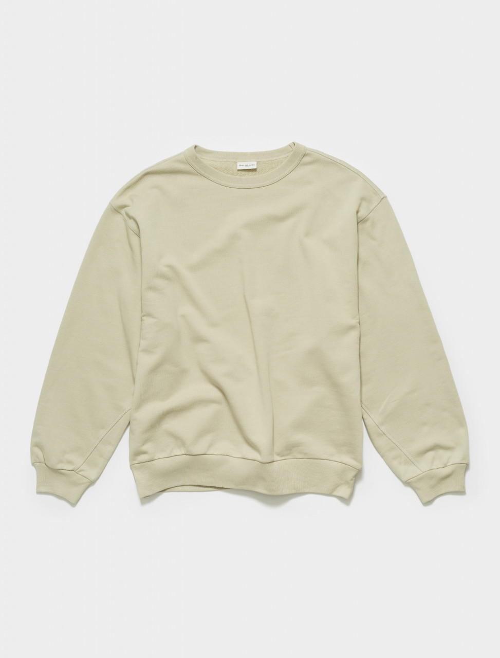 211-21139-2609-801 DRIES VAN NOTEN HAXTI SWEATER IN CEMENT