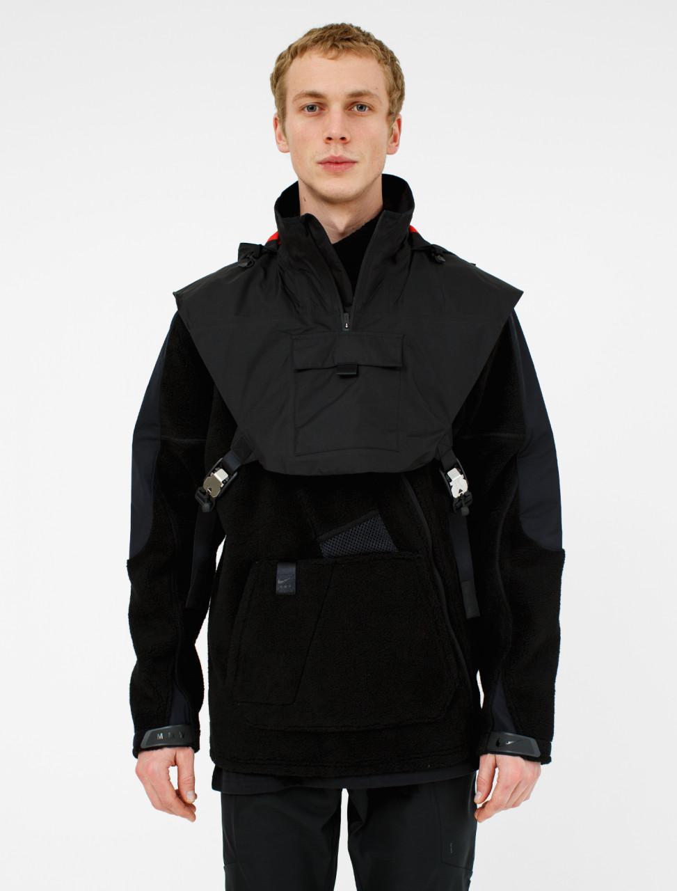 x MMW Fleece Jacket in Black