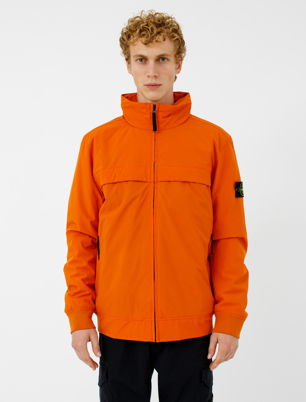Jacket in Orange