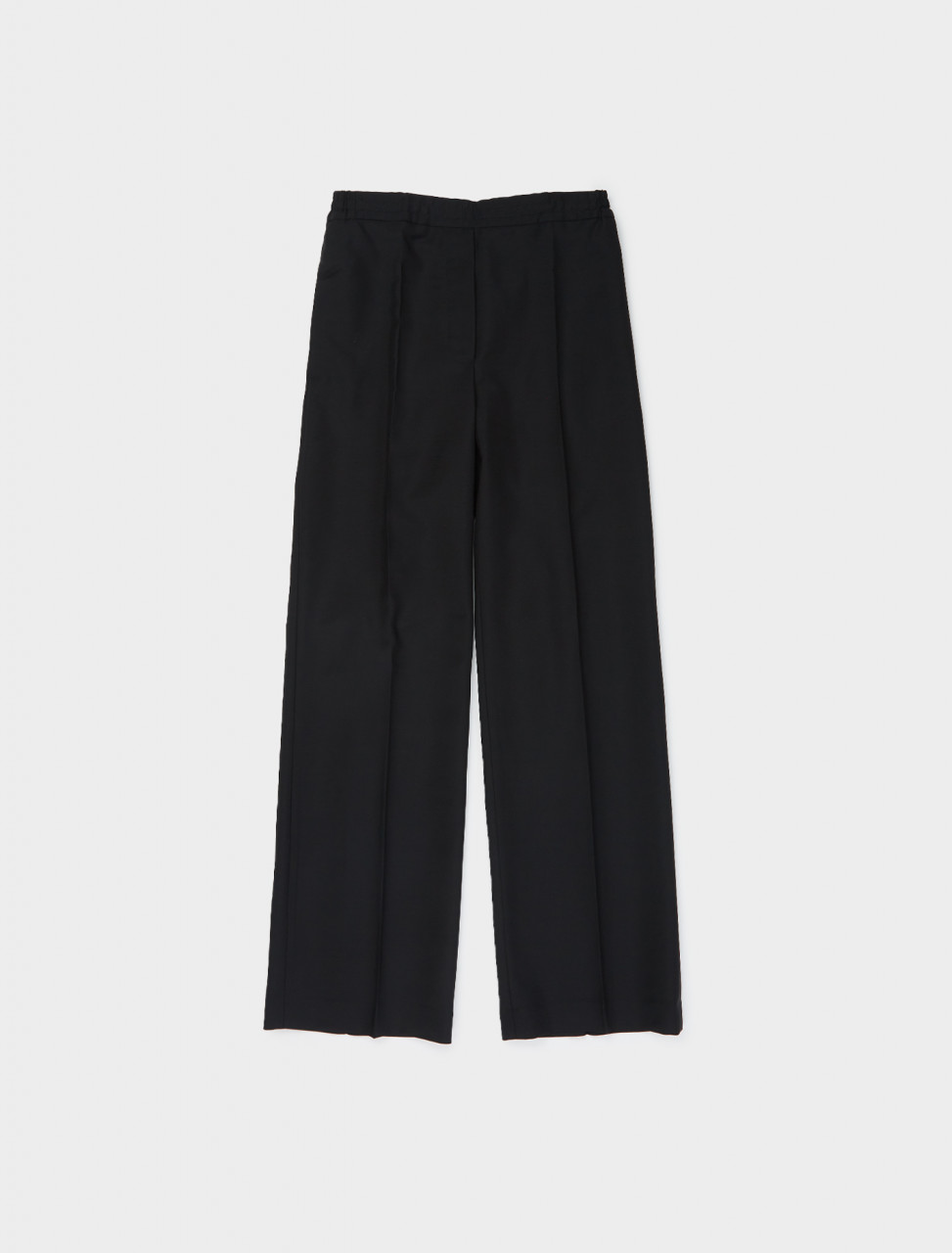 110-AK0318-900 ACNE STUDIOS ELASTICATED WAIST TROUSER BLACK
