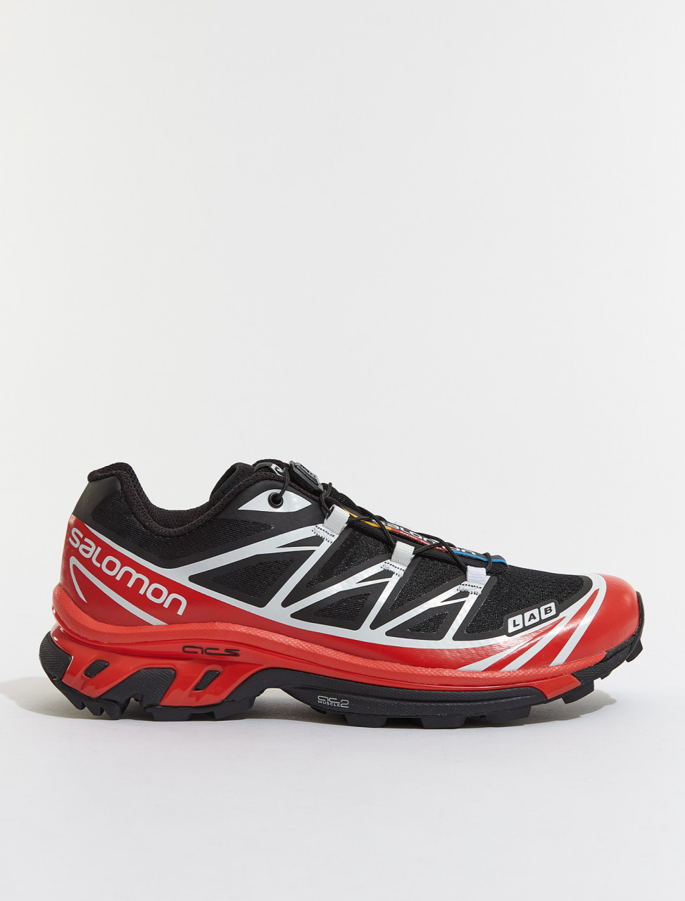 L41394800 SALOMON XT 6 ADVANCED BLACK RACING RED