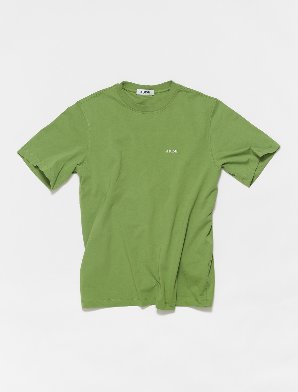 SS21-SSKLG003 ADISH SHORT SLEEVE KHALIL LOGO T SHIRT GREEN