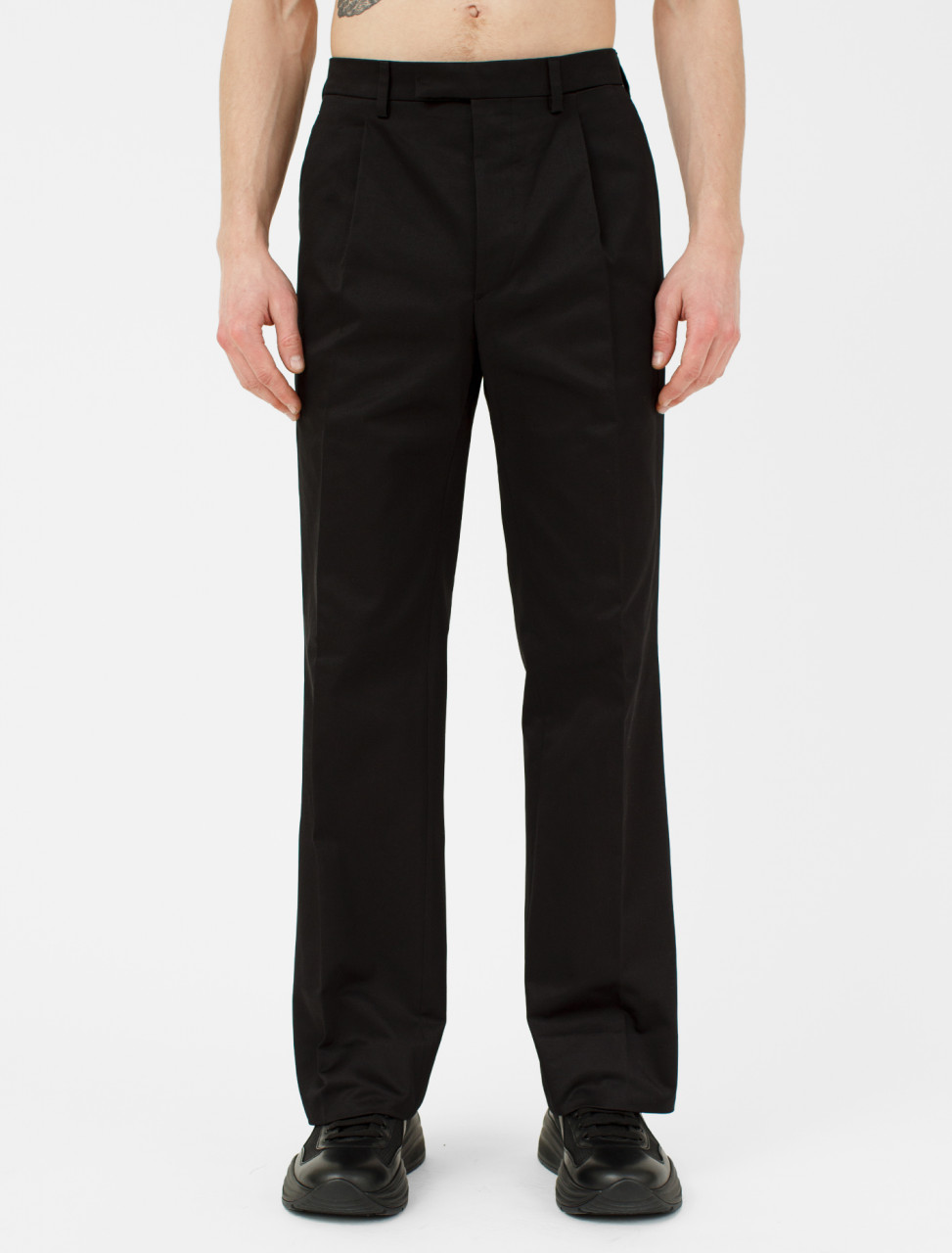 Chino Trouser in Black