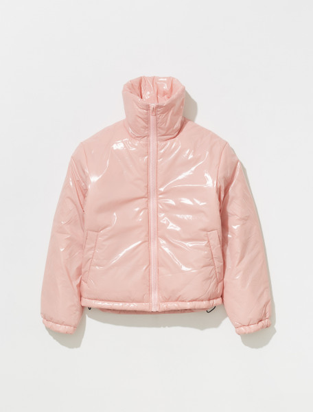 C90066 AD1 FA UX OUTW000051 ACNE STUDIOS OGGY GLOSS FACE JACKET IN BLUSH PINK
