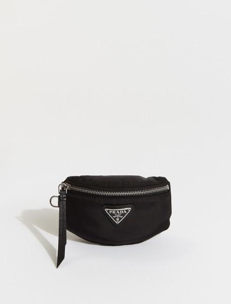 2TT116-F0002 PRADA Mini Nylon Pouch in Black