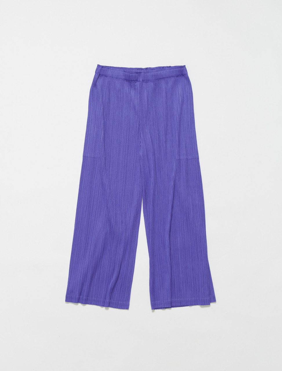 PP16JF553-81 ISSEY MIYAKE PLEATS PLEASE PLEATED TROUSER PURPLE