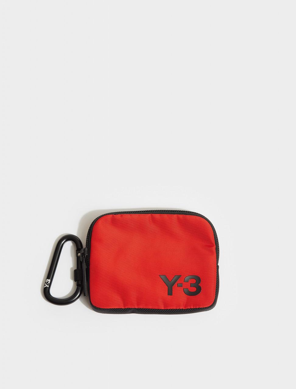165-FS2366 Y-3 LOGO POUCH RED