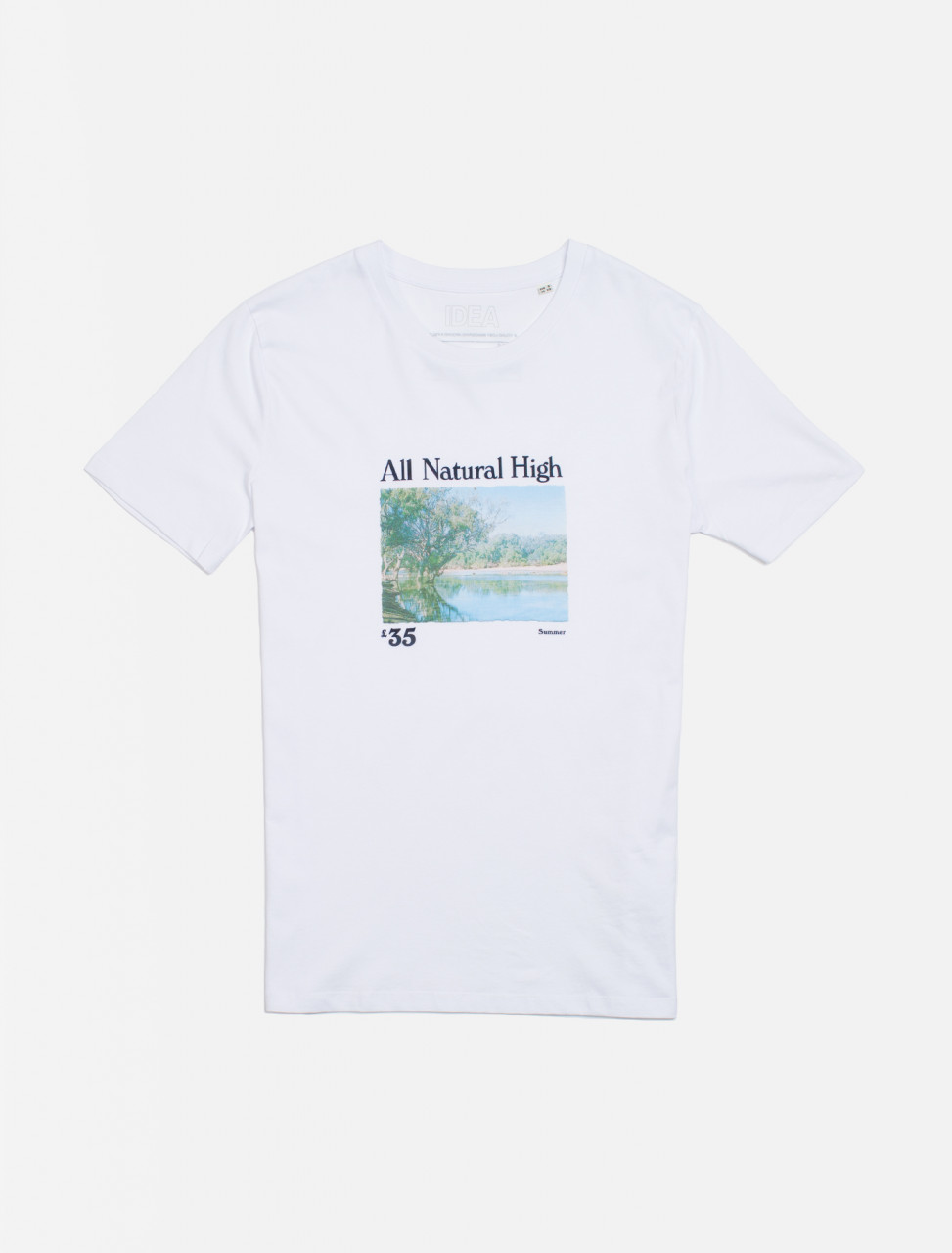 All Natural High Chart Lake Tee