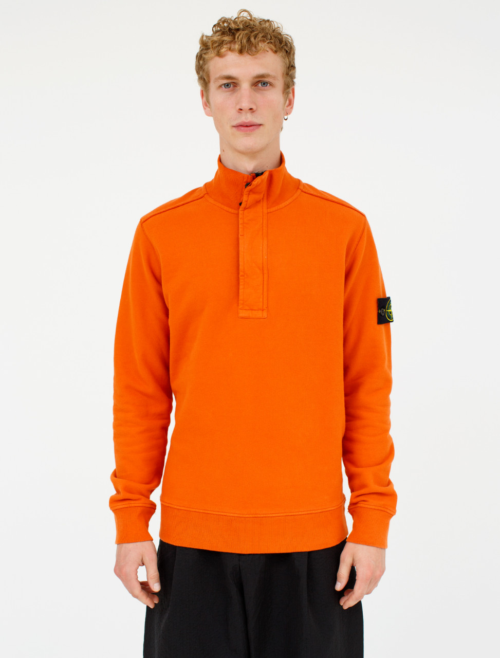 Stone Island Sweatshirt in Orange 1