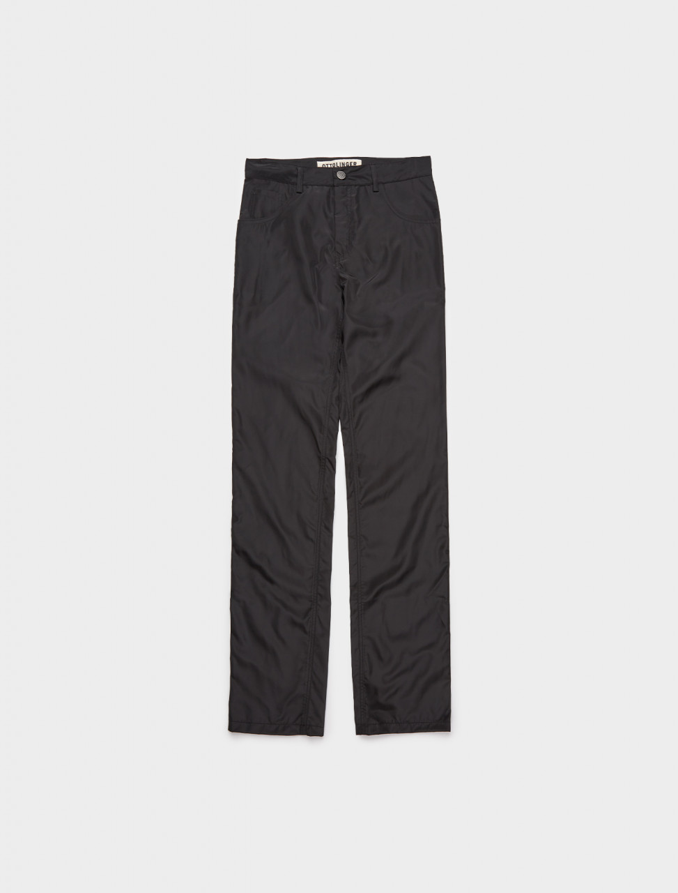 318-PA10B OTTOLINGER STRAIGHT TROUSER BLACK