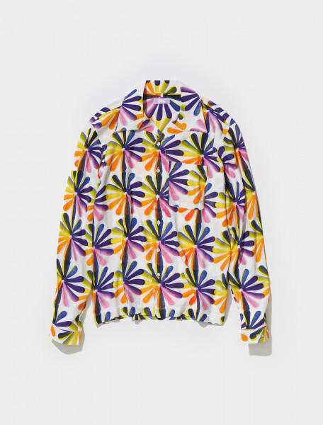 ERL03B004_1 ERL PRINTED SHIRT IN RAINBOW