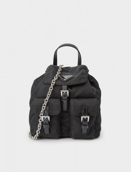242-1BH029-V44-F0002-V-COM PRADA Nylon Mini Backpack