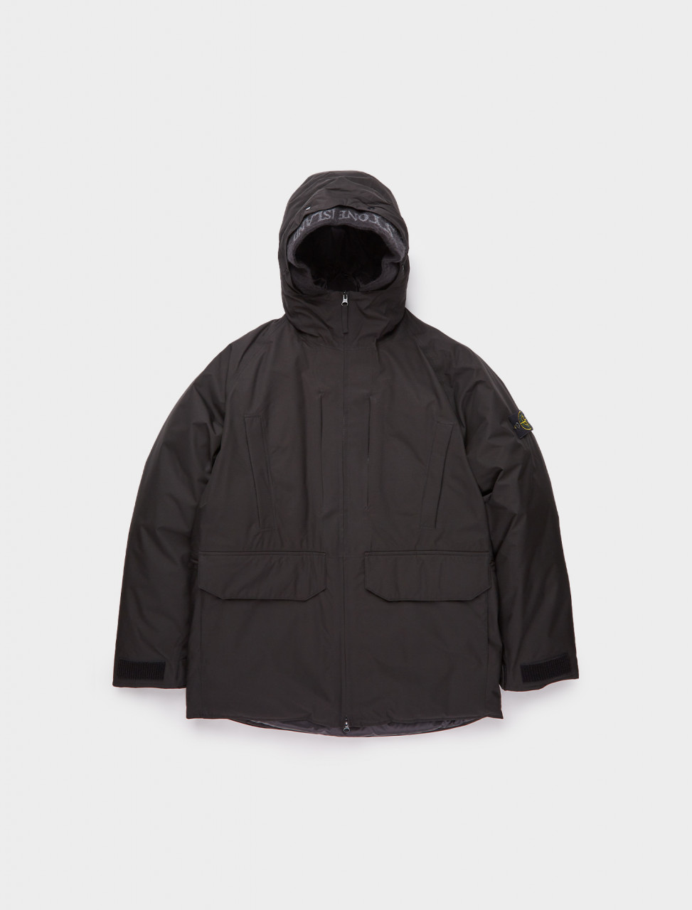 241-MO731540230-V0029 STONE ISLAND DOWN FILLED ANORAK BLACK
