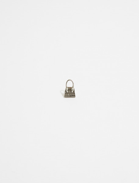 215JW01-215-550900 JACQUEMUS LE CHIQUITO EARRING RAW SILVER