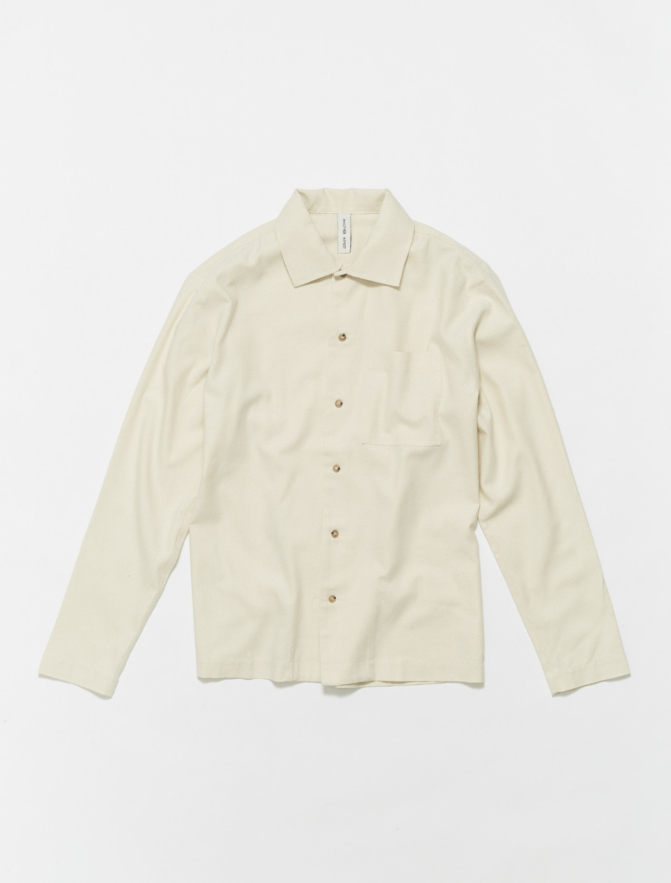 202020-050 ANOTHER ASPECT ANOTHER SHIRT 2.1 NATURAL