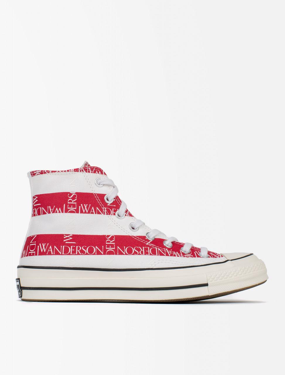 12b1208f6156 Converse x JW Anderson Chuck 70 HI Flag Print Sneaker