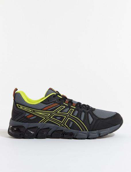 ASICS GEL-VENTURE 180 Sneaker in Black & Sour Yuzu | Voo Store ...