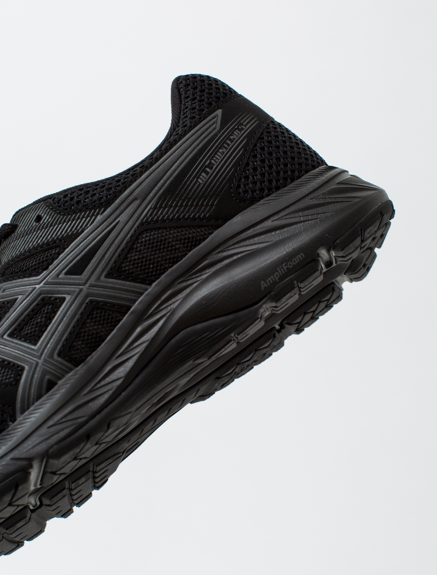 Athletic Shoes ASICS Gel-Contend 5 Men Black Running Trainers ...