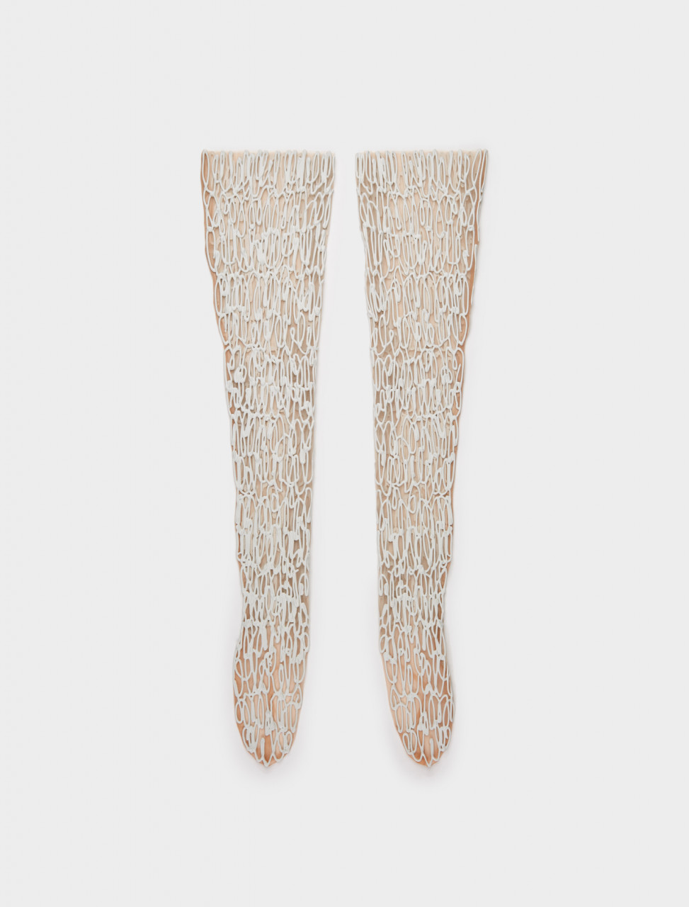 1000716 KASIA KUCHARSKA THIGH HIGHS WHITE