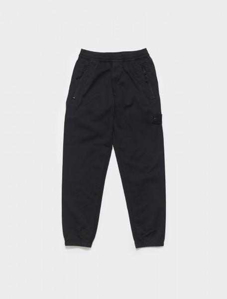 MO7415317F2-V0029 STONE ISLAND JOGGER PANTS IN BLACK
