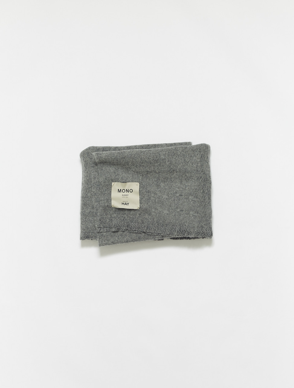 283-507549 HAY MONO BLANKET STEEL GREY